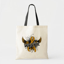 Warrior 16 Appendix Cancer Tote Bag