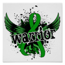 Warrior 16 Bile Duct Cancer Poster