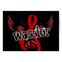 Warrior 16 Blood Cancer Card