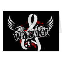 Warrior 16 Bone Cancer Card