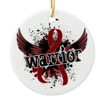 Warrior 16 Brain Aneurysm Ceramic Ornament