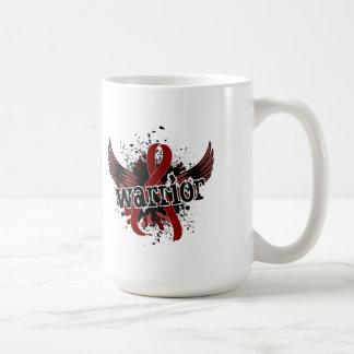 Warrior 16 Brain Aneurysm Classic White Coffee Mug