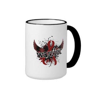 Warrior 16 Brain Aneurysm Ringer Coffee Mug