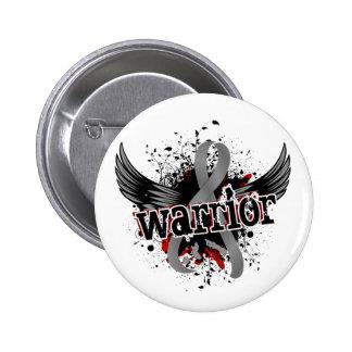 Warrior 16 Brain Cancer Button