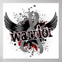 Warrior 16 Brain Cancer Poster