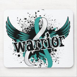Warrior 16 Cervical Cancer Mouse Pad