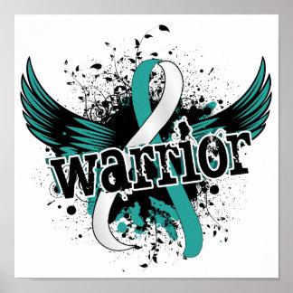 Warrior 16 Cervical Cancer Print