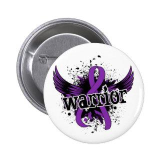 Warrior 16 Chiari Malformation Pinback Button