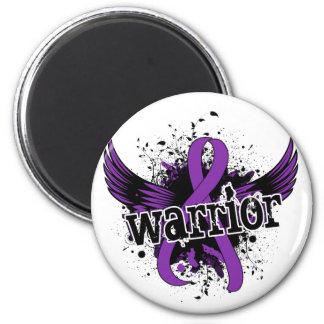 Warrior 16 Chiari Malformation Fridge Magnets