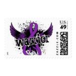 Warrior 16 Chiari Malformation Stamps