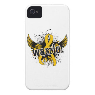 Warrior 16 Childhood Cancer Case-Mate iPhone 4 Cases