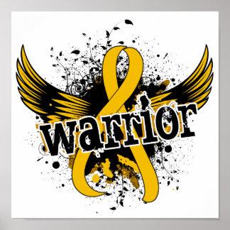 Warrior 16 Childhood Cancer Poster