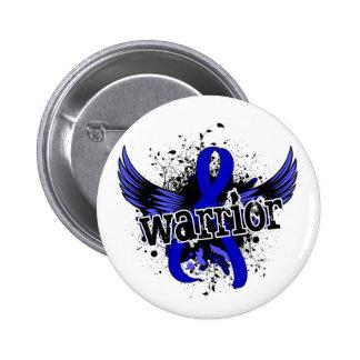 Warrior 16 Colon Cancer 2 Inch Round Button