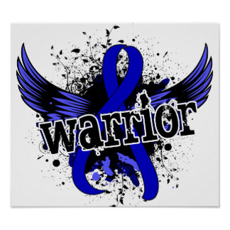 Warrior 16 Colon Cancer Poster