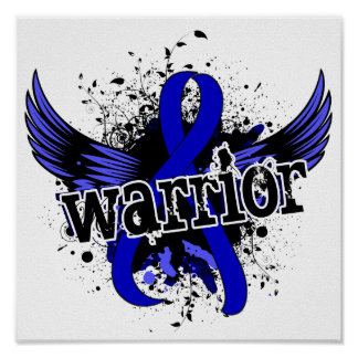 Warrior 16 Colon Cancer Posters
