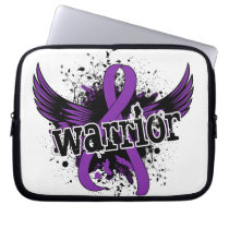 Warrior 16 Crohn's Disease Laptop Sleeve