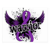 Warrior 16 Crohn's Disease Postcard