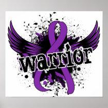 Warrior 16 Crohn's Disease Poster