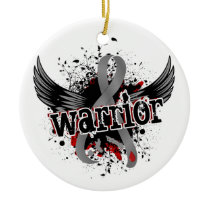 Warrior 16 Diabetes Ceramic Ornament
