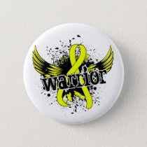 Warrior 16 Endometriosis Button