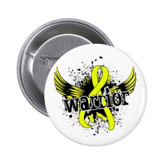 Warrior 16 Endometriosis Button