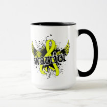 Warrior 16 Endometriosis Mug