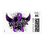 Warrior 16 Epilepsy Postage Stamp