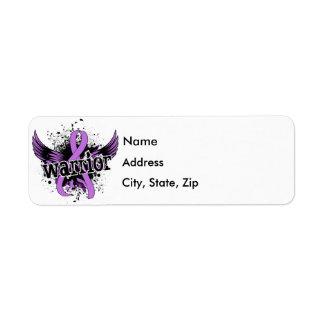Warrior 16 General Cancer Label