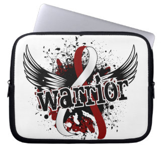 Warrior 16 Head and Neck Cancer Laptop Computer Sleeve