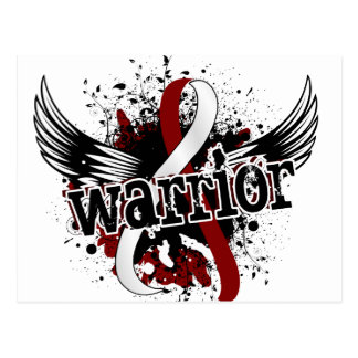 Warrior 16 Head and Neck Cancer Postcard