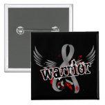 Warrior 16 Juvenile Diabetes 2 Inch Square Button