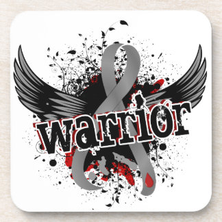 Warrior 16 Juvenile Diabetes Beverage Coaster