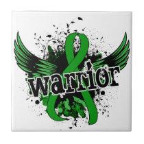 Warrior 16 Kidney Disease Ceramic Tile