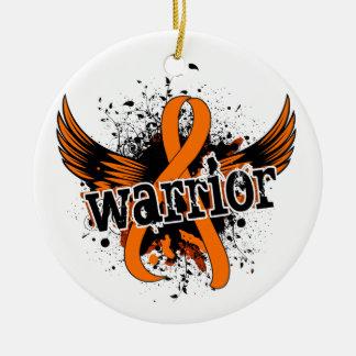 Warrior 16 Leukemia Ornament