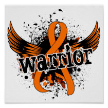 Warrior 16 Leukemia Poster