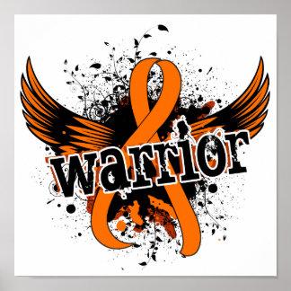 Warrior 16 Leukemia Poster