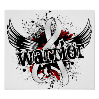 Warrior 16 Lung Cancer Poster