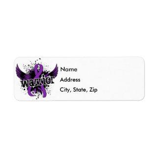 Warrior 16 Lupus Label