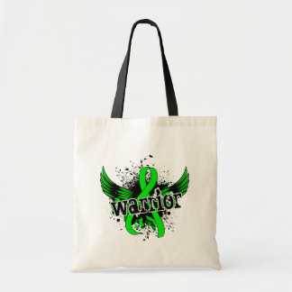 Warrior 16 Lyme Disease Budget Tote Bag