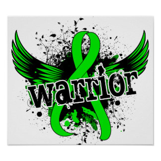 Warrior 16 Lyme Disease Poster