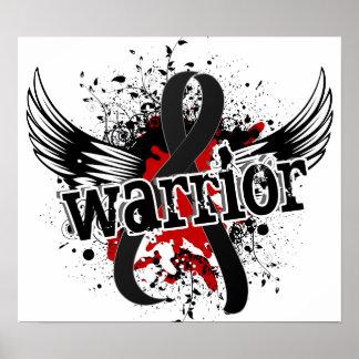 Warrior 16 Melanoma Poster