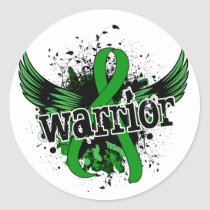 Warrior 16 Mental Health Classic Round Sticker