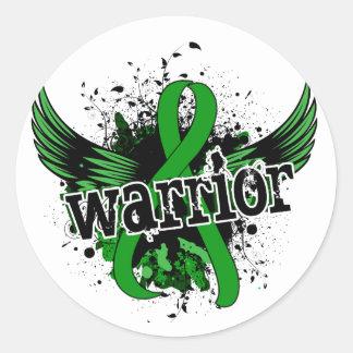 Warrior 16 Mental Health Classic Round Sticker