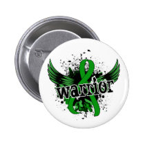 Warrior 16 Mental Health Pinback Button