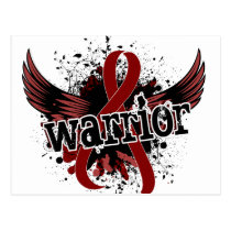 Warrior 16 Multiple Myeloma Postcard