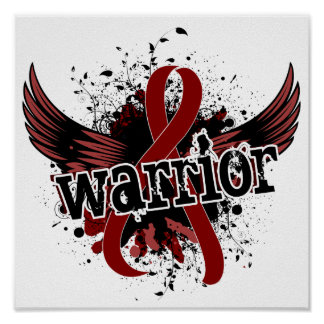 Warrior 16 Multiple Myeloma Poster