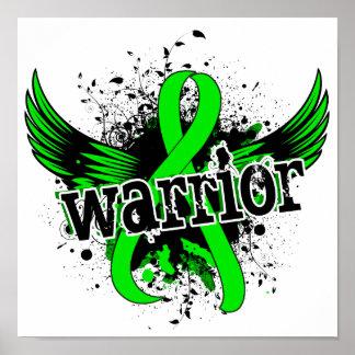 Warrior 16 Non-Hodgkin's Lymphoma Poster