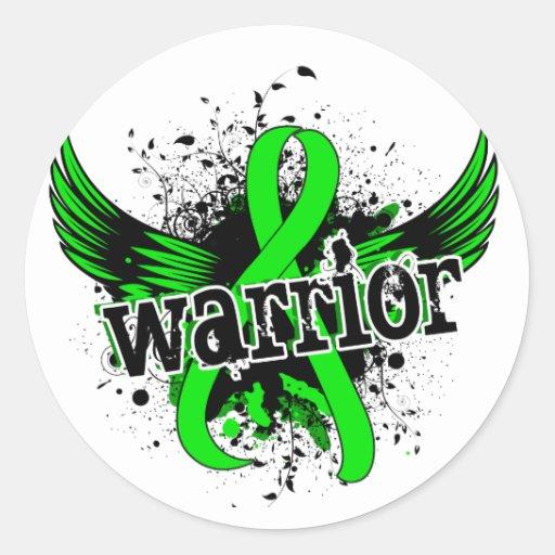 Warrior 16 Non-Hodgkin's Lymphoma Stickers