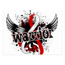 Warrior 16 Oral Cancer Postcard