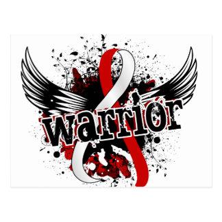 Warrior 16 Oral Cancer Postcard